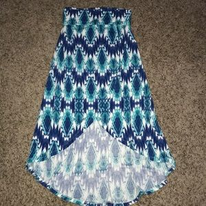 🍁MOVING SALE🍁 NWOT Navy teal and white shirt
